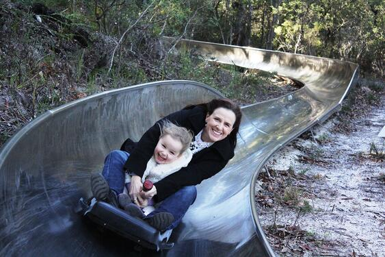Toboggan Hill in Nelson Bay